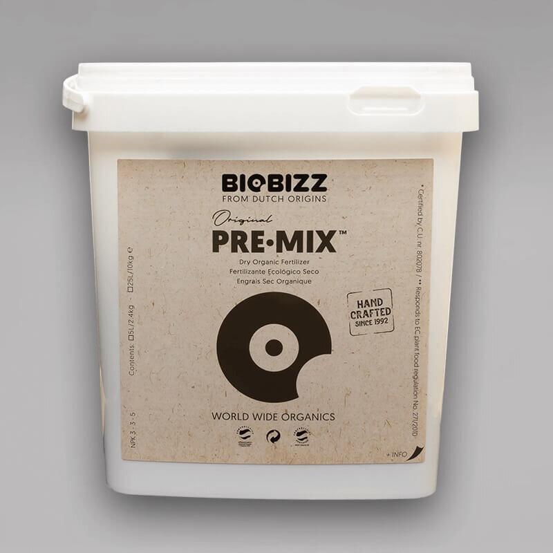 biobizz pre mix in 5l oder 25l g nstig online kaufen. Black Bedroom Furniture Sets. Home Design Ideas