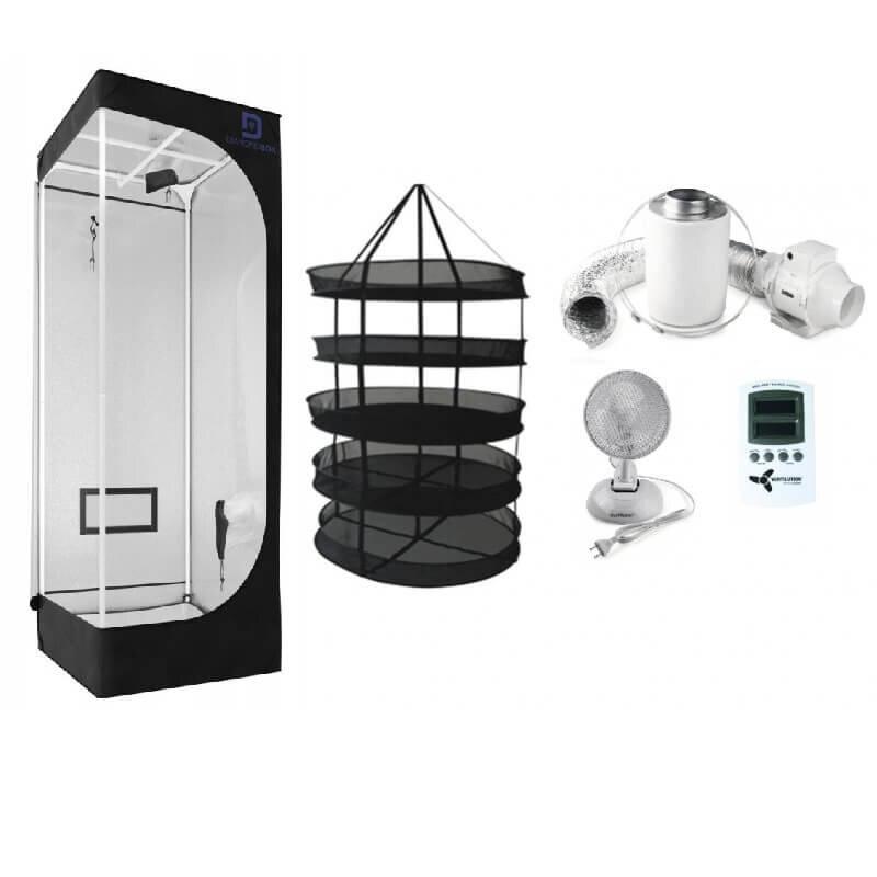 trockenbox l komplettset trocknung l kaufen grow. Black Bedroom Furniture Sets. Home Design Ideas