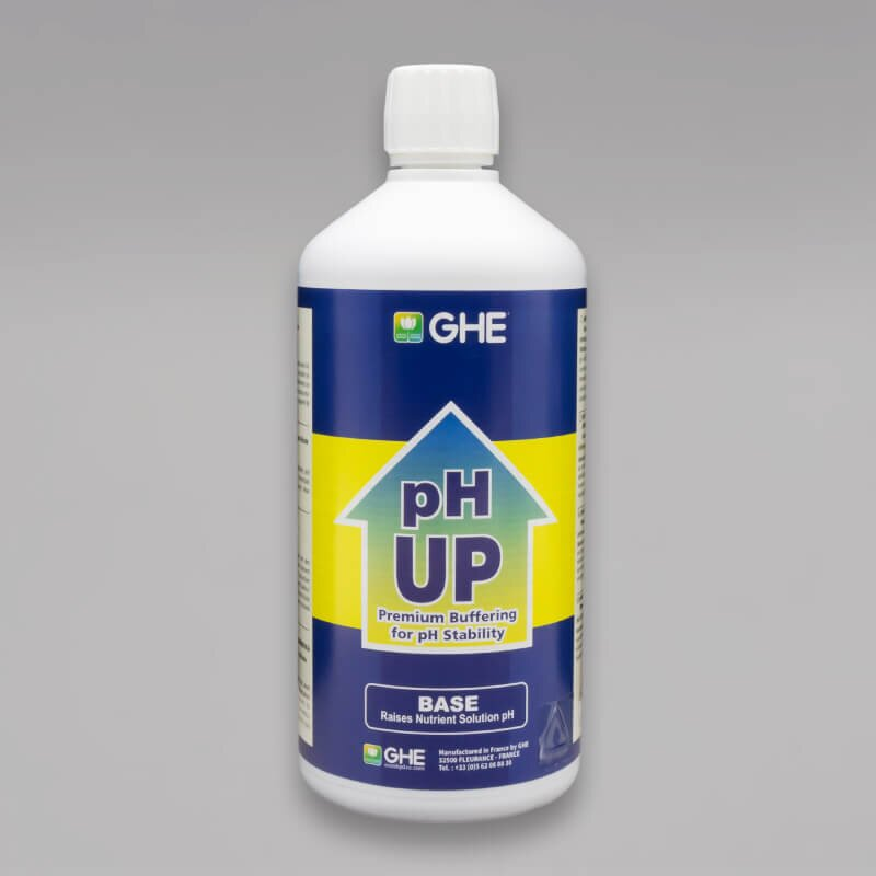 GHE pH Up, pH Plus in 0,5L, 1L oder 5L