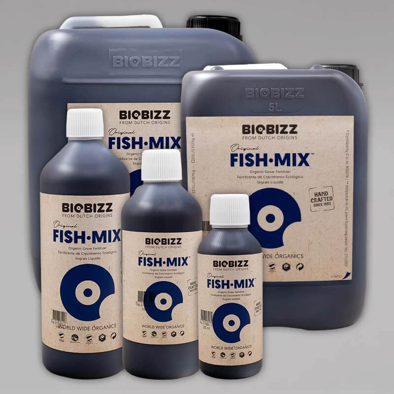 Biobizz Fish Mix, 500ml, 1L oder 5L